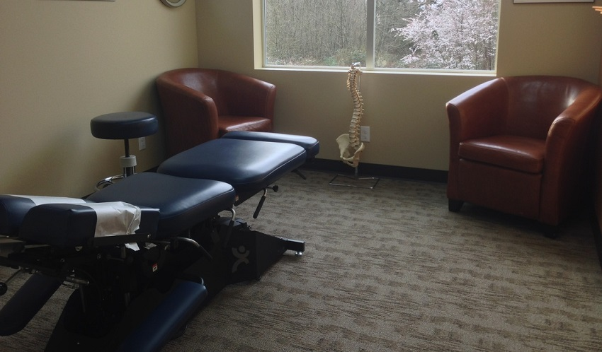 Lane Chiropractic adjustment room