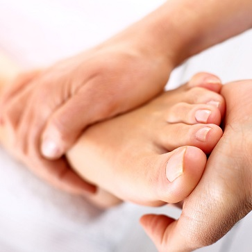 rehabilitation foot massage